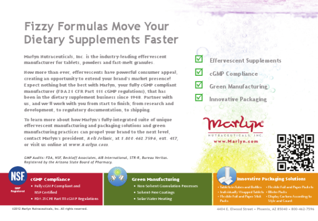 Print Ad - Marlyn Nutraceuticals